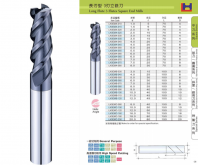 3 Flutes Long Flutes Square End Mills