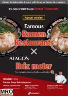 ATAGO Ramen BrixSalt Meter (Kansai)