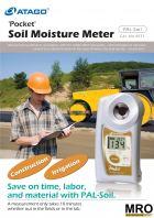 ATAGO Pocket Refractometer - Soil Mosture