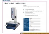 Vision Machine System Manual