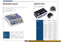 Weighing Scales & Weight Sets