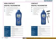 Non-Contact Digital Tachometer & Contact Digital Tachometer