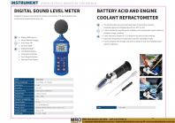 Digital Sound Level Meter & Battery Acid and Engine Coolant Refractometer