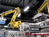 Robot Application in TFT Industry