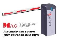 MAG Barrier Gate