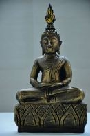 Golden Wooden Buddha