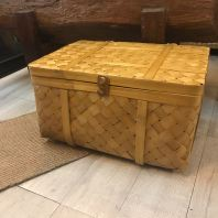 BAMBOO STORAGE BOX WITH COVER