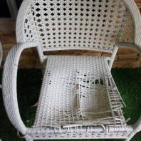 REPAIR SYNTHETIC LOUNGE CHAIR