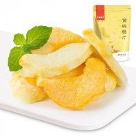 Freezing Drying Crispy Yellow Peach