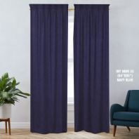 1 SET CURTAIN INTERLOCK BR NAVYBLUE (60''X85'') (2PCS)