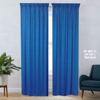 1 SET CURTAIN INTERLOCK BR TRUE BLUE (60''X85'') (2PCS)