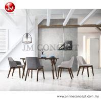 JM Concept Blankety UF2021 Dining Set (1+4)