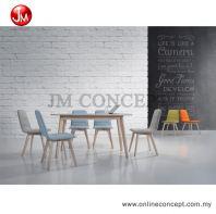 JM Concept Coral UF2003-B Dining Set (1+6)