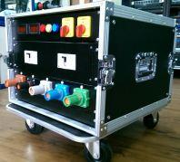 Dual AC240V/125A Distribution box with Powerlock