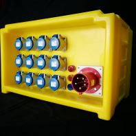 63 Amp Distribution Box ( Yellow Color )