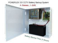 PowerLEX 12V 6A CCTV Battery Backup Power Supply