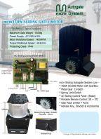 mcm450W AC Sliding Autogate System