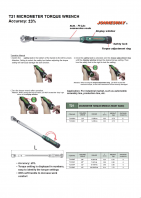 MICROMETER TORQUE WRENCH SERIES T21