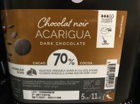 Dark Chocolate - Acarigua 70%