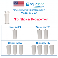 AQUASANA AQ-4125 Shower Filter Replacement Cartridge