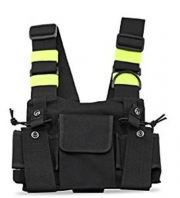 Radio Walkie Talkie Chest Pocket Harness Bags Pack Backpack Holster