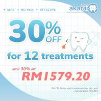 30% off for 12 treatments