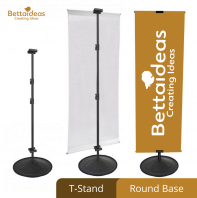 T-Stand / Round Base