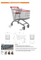 16096-105 Liter Shopping Trolley