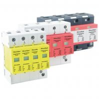 Din-Rail Surge Protector for 3-phase Power Lines