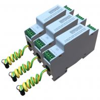 2-Pole Din-Rail Series Surge Protector for RS232 DC Communication Lines
