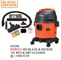 BLACK & DECKER 15L WET & DRY VACUUM CLEANER