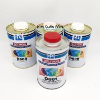 PPG DELTRON D800 CLEAR with D861 MEDIUM SOLID HARDENER- SET