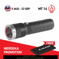 LED LENSER MT 14 FLASHLIGHT COMBO PACK BLISTER