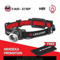 LED LENSER H8R COMBO PACK BLISTER