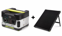 GOAL ZERO YETI 150 PORTABLE POWER STATION + BOULDER 50 SOLAR PANEL