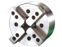 VERTEX 4-Jaw Wedge Type Through Hole Power Chuck (Without Adaptor)