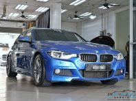Brand new BMW 330e - Portimao Blue fully coated with STE Coating. Call and book us now for more protection