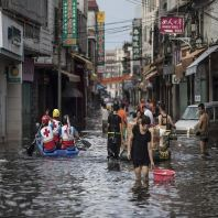 Torrential rain, flooding force major evacuations in China's Guangdong province