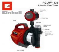 EINHELL AUTOMATIC WATER PUMP 1100W, AW1139