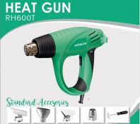 HITACHI 2000W 450/600 DEGRESS C. HOT AIR BLOWER C/WSTD ACCESS, RH600T