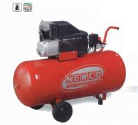 NEWCO PISTON AIR COMPRESSOR 2.5HP(1.8KW) 240L/MIN(8.4CFM) 24L/TANK 9BAR 230V/1PH/50HZ 79DB