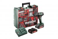 METABO CORDLESS IMPACT DRILL MOBILE WORKSHOP SET, SB18SET
