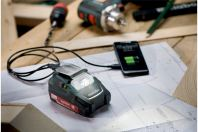 METABO PA 14.4-18 LED-USB BATTERY POWER ADAPTOR (GERMANY)
