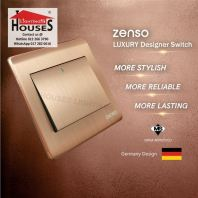 Zenso - Metallo Series Intermadiate  Switch - Aluminium Gold S1026-G