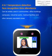 DB-DF105 (4 in 1 temperature detection face recognition time attendance) -