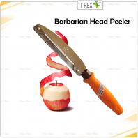 Barbarian Head Peeler / Fruit and Vegetable Peeler - Stainless Steel 220mm