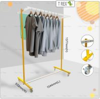 [PREMIUM QUALITY] Clothes Hanger Rack (Solid Yellow White Mixed)