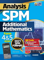 Analysis SPM Additional Mathematics Form 4&5 KSSM