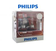 Philips X-Treme Vision 100% Halogen Bulb ( H11 )