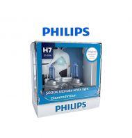 Philips Diamond Vision Halogen Bulb (H7)